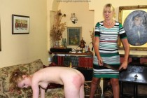Free porn pics of Cute Naked Ella Strapped Hard by Strict Aunt Sarah 1 of 32 pics