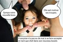 Free porn pics of french caption (francais) elles adorent leur job. 1 of 5 pics