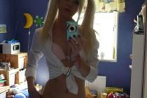 Free porn pics of Skinny Blonde Selfe 1 of 124 pics