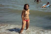 Free porn pics of Girl at costinesti beach 1 of 17 pics