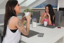 Free porn pics of Teen threesome Evelyn and Silvia Dellai 1 of 271 pics