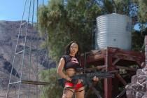 Free porn pics of Amber Fox - Vampire Hunter 1 of 265 pics