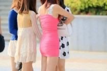 Free porn pics of Chinese streets: Short dresses High heels 1 of 29 pics